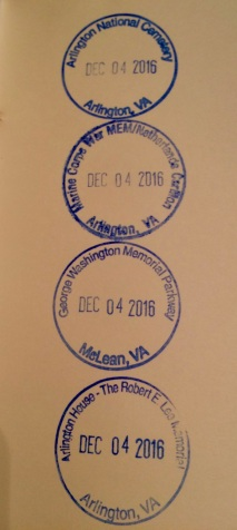 V.A. Cancelation Stamps 2016